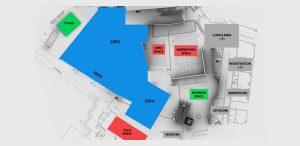 Mapa de espacios de LIBRECON